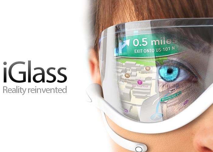 Concepto de gafas de Apple