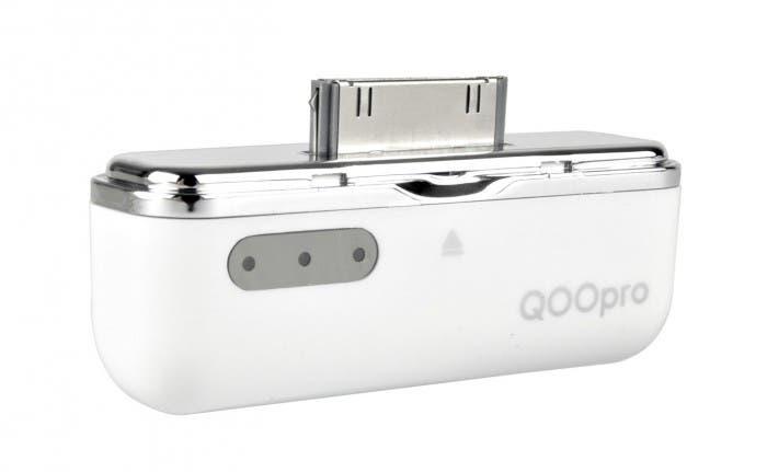 mobile power QooPro versión Blanco Conector