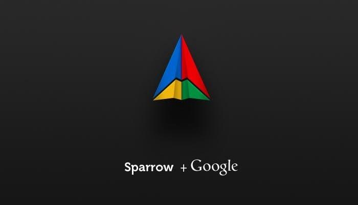 Sparrow y Google juntos