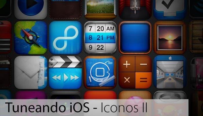 Cabecera del especial Tuneando iOS: Iconos, segunda parte