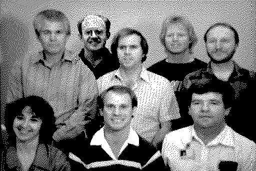 Segunda imagen oculta en la ROM, con desarrolladores del Macintosh