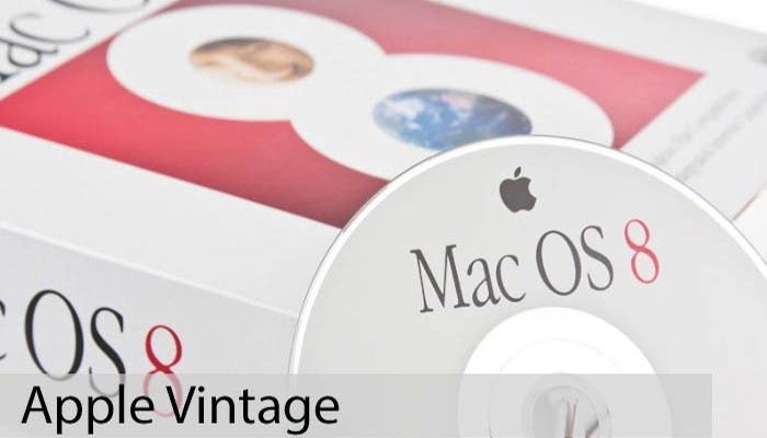 Apple Vintage: Mac OS 8
