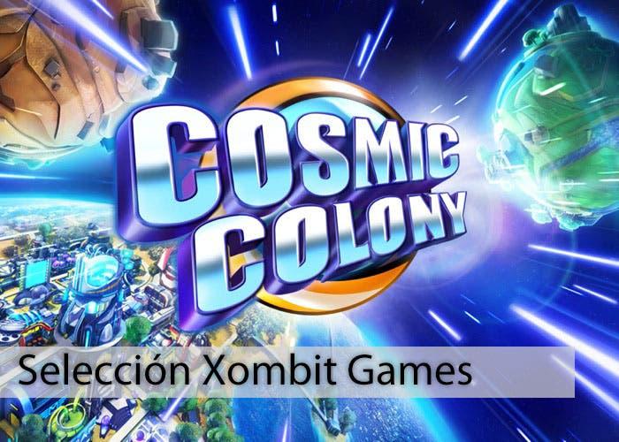 Pantalla de inicio de Cosmic Colony