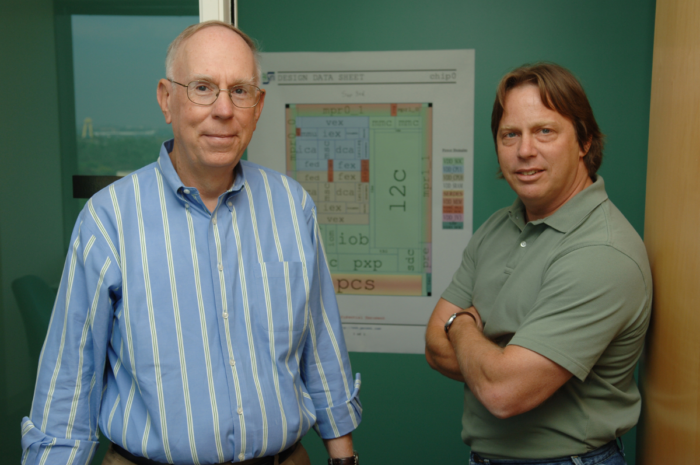 Daniel Dobberpuhl y Jim Keller, juntos