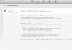 Actualización OS X Mountain Lion 10.8.1