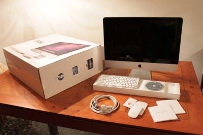 iMac y su embalaje