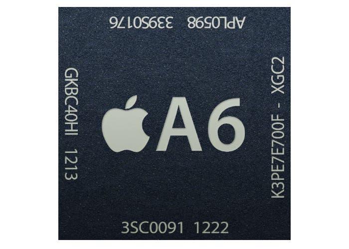 Chip A6 incluido en el iPhone 5
