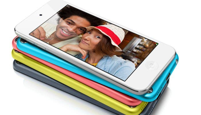 iPod touch de colores