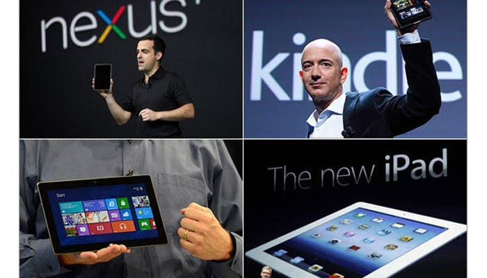 Kindle Fire, Nexus 7 e iPad en guerra