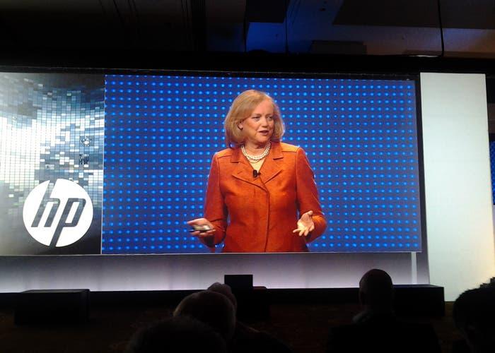 Margaret C. Whitman, actual CEO de HP