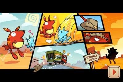 Intro del juego Run Roo Run