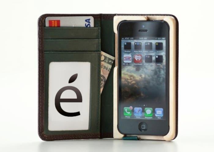 Funda Piel iPhone 5: Little Pocket Book