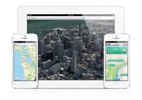 Nueva aplicación de Maps para iOS 6