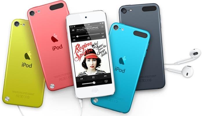 iPod touch más colorido que nunca