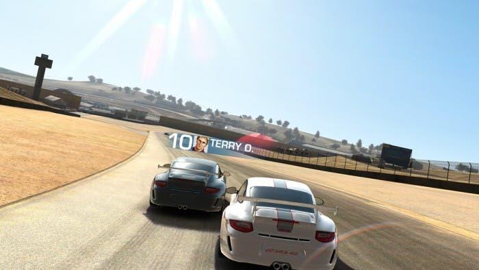 Real Racing en iPhone 5
