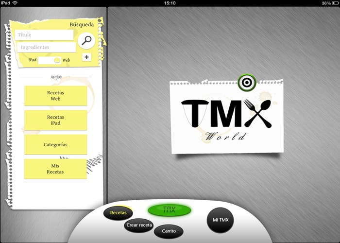 TMX interfaz