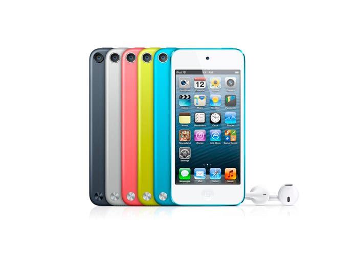 La gama iPod touch al frente