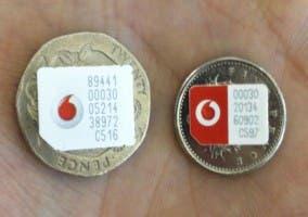 Las nuevas Nano-SIM de Vodafone