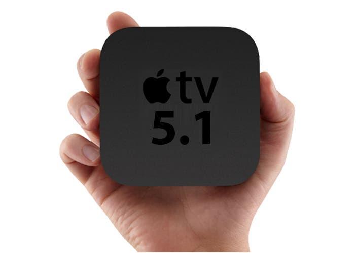 El software del Apple TV se actualiza a la versión 5.1