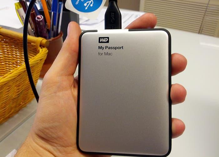Tamaño del disco duro WD My Passport for Mac