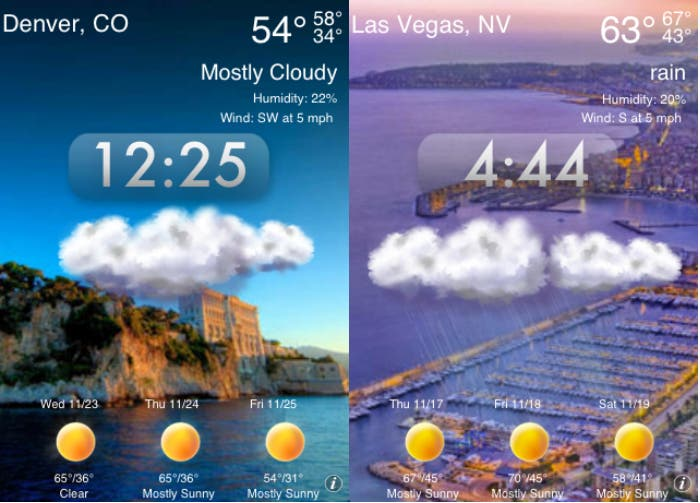 Weather Genie para iOS