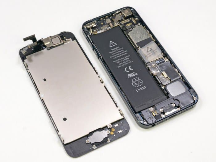 Teardown del nuevo iPhone 5 VI