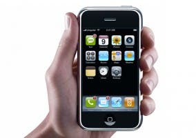 Aspecto del primer iPhone lanzado en 2007