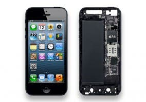 Interior de un iPhone 5