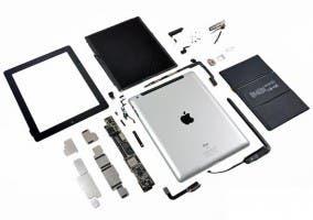 iPad de tercera generación desmontado