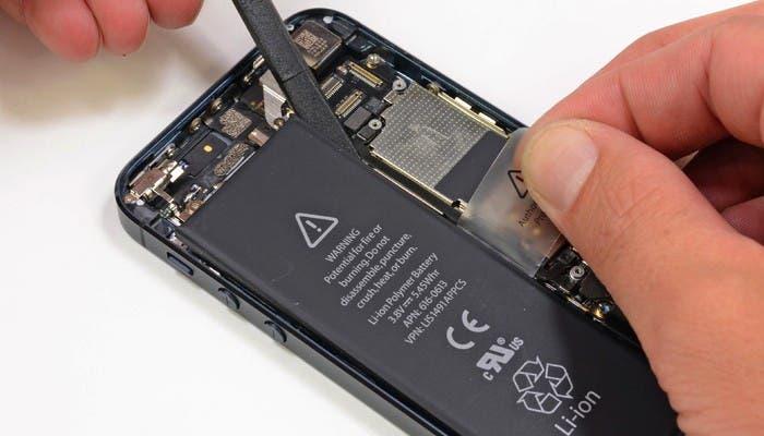 Capacidad de la batería del iPhone 5
