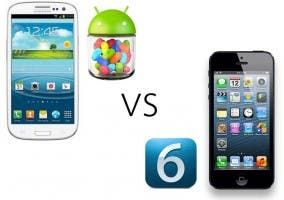 iPhone 5 vs Samsung Galaxy SIII