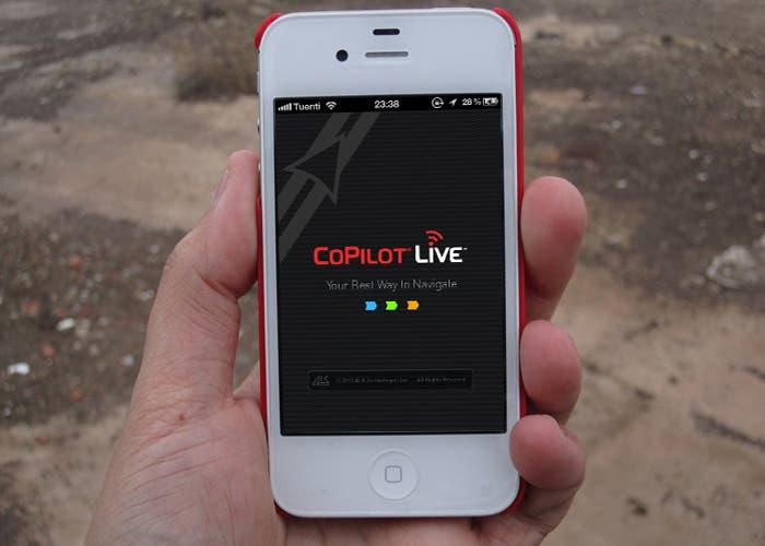 El navegador CoPilot Live para iPhone