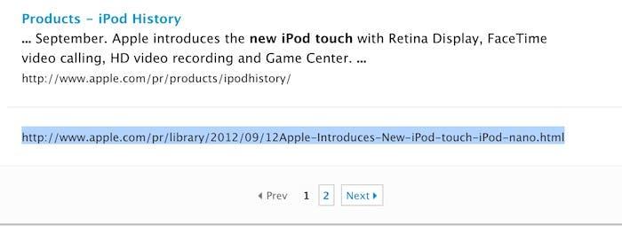 Nuevos iPod touch y nano