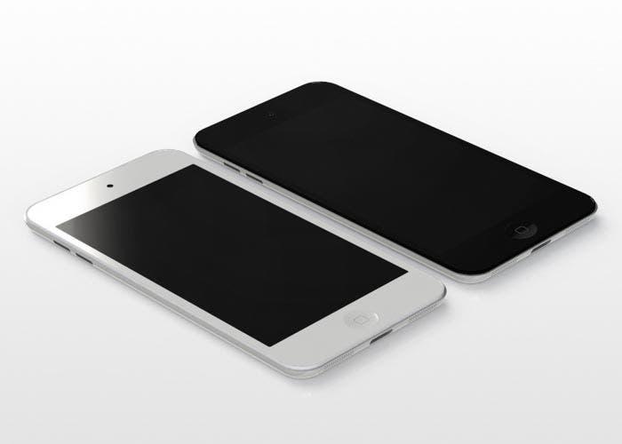 Imagen generada por ordenador de lo que podría ser el nuevo iPod touch