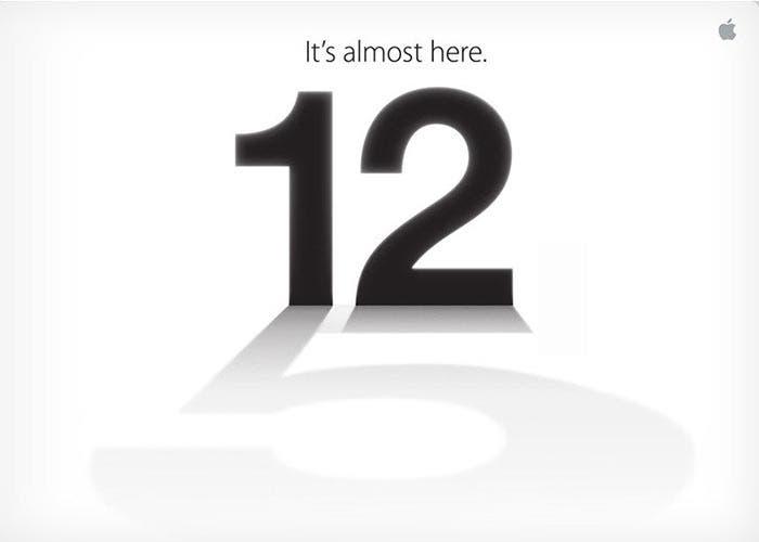 Habemus Keynote de Apple el día 12