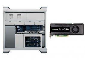Mac Pro con una NVIDIA Quadro K5000