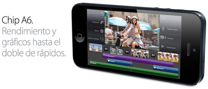 Procesador del iPhone 5
