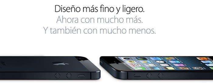 Diseño del iPhone 5