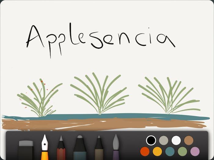 Dos capturas de pantalla sobre el funcionamiento de Paper by 53 en el iPad
