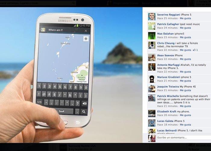 Campaña anti iPhone fallida de Samsung en Facebook