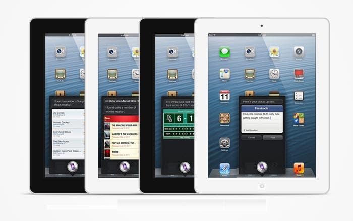 Siri en el iPad