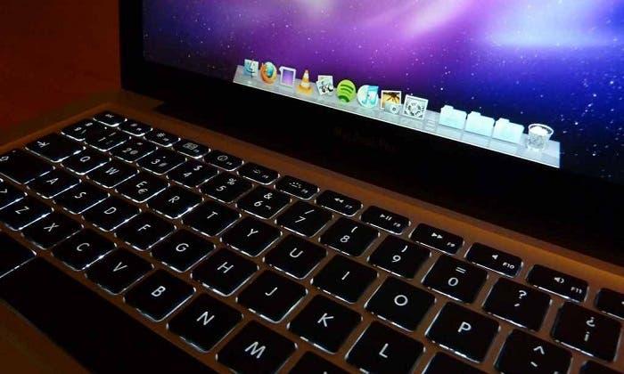 Teclado del MacBook Pro retroiluminado