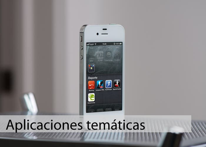Portada de aplicaciones temáticas para iPhone
