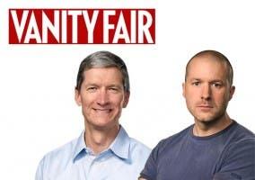 Tim Cook y Jonathan Ive en Vanity Fair