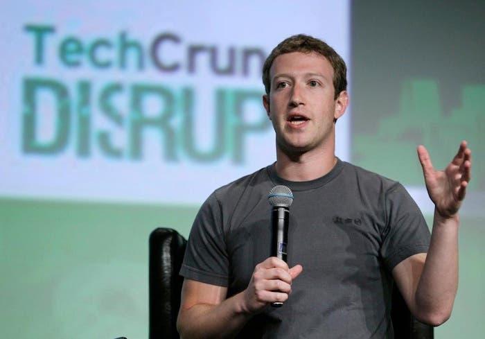 Mark Zuckerberg en TechCrunch