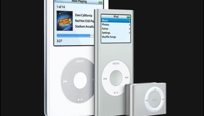La gama iPod cumple once años