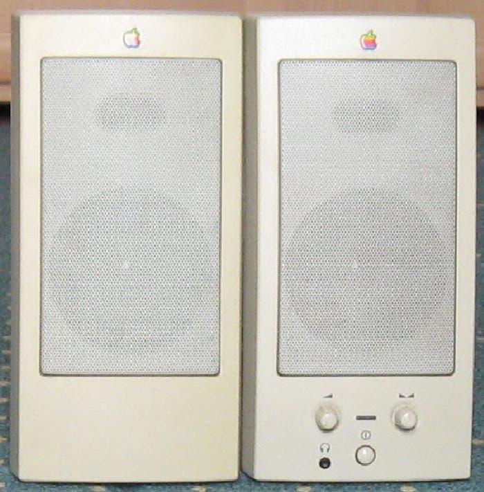 Altavoces de Apple: Apple Design Power Speakers I