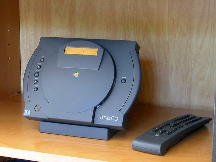 PowerCD de Apple reproductor de CD y CD-ROM
