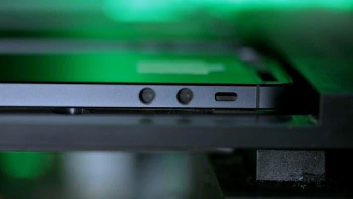 Cubierta iPhone 5 en el transportador