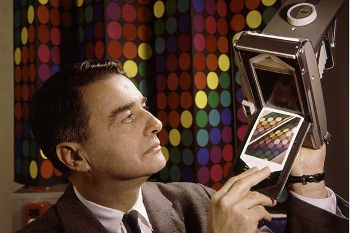 Edwin Land, co-fundador de Polaroid